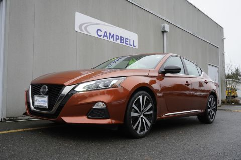 Pre-Owned 2019 Nissan Altima 2.5 SR AWD