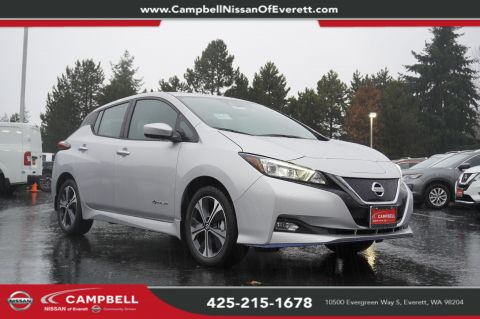 New 2019 Nissan Leaf SV Plus All Weather Tech Package