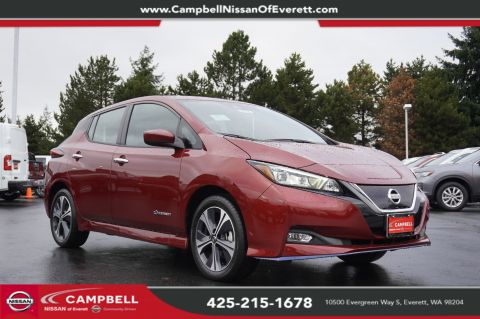 New 2019 Nissan Leaf SV Plus Tech All Weather Package