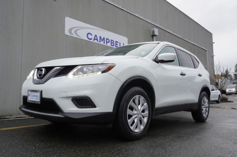 Certified Pre-Owned 2016 Nissan Rogue S AWD w/Third Row Seating